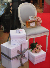 Decoracions d'interior per l'empresa floristeria morera