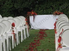 decoracions d'interior i exterior de bodes floristeria morera