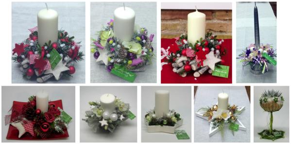 Complements i detalls nadalencs fets a mà a la floristeria morera