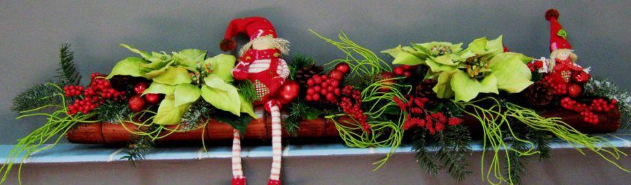 Centres nadalencs de la floristeria morera