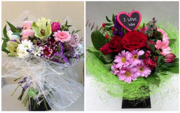 Dia dels enamorats, Diga-li que l'estimes amb un ram de flors!