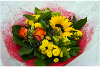 Bouquet primaveral amb flors de camp