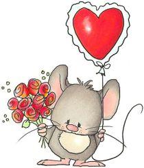 Dia dels enamorats 14 Febrer diga-li que l'estimes amb una flor